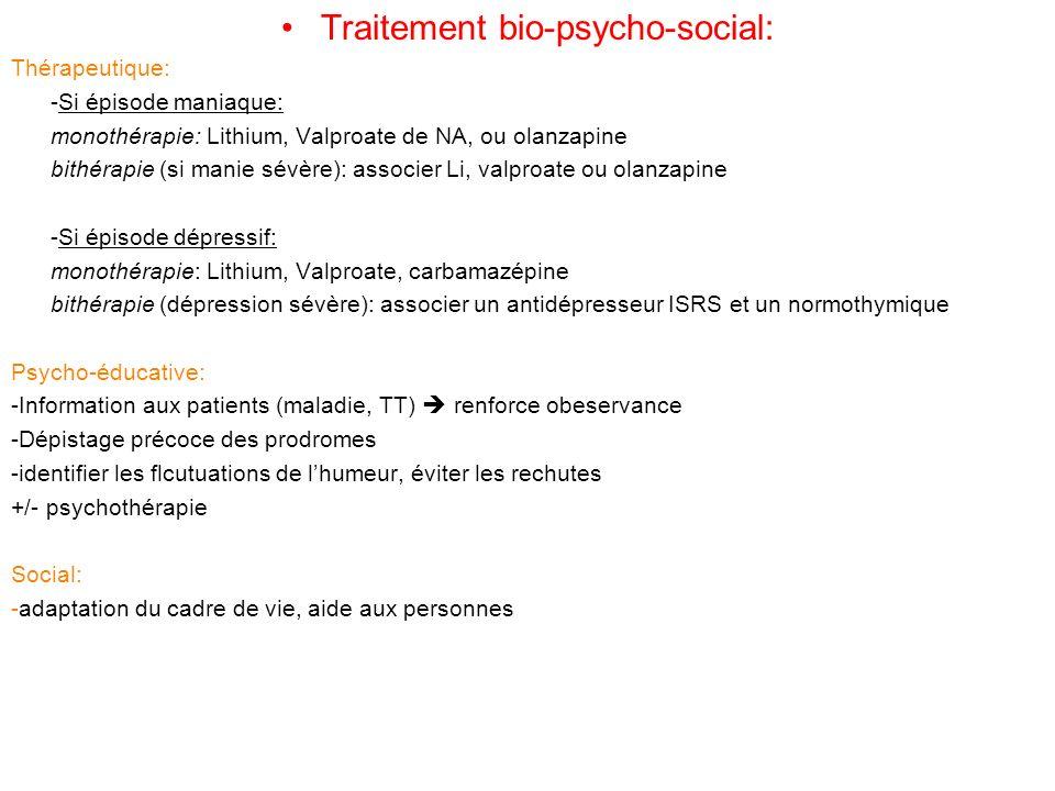 Traitement bio-psycho-social: