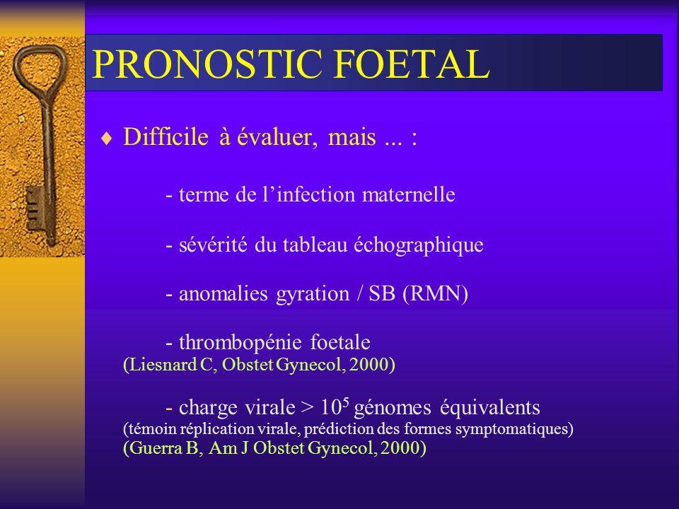 PRONOSTIC FOETAL