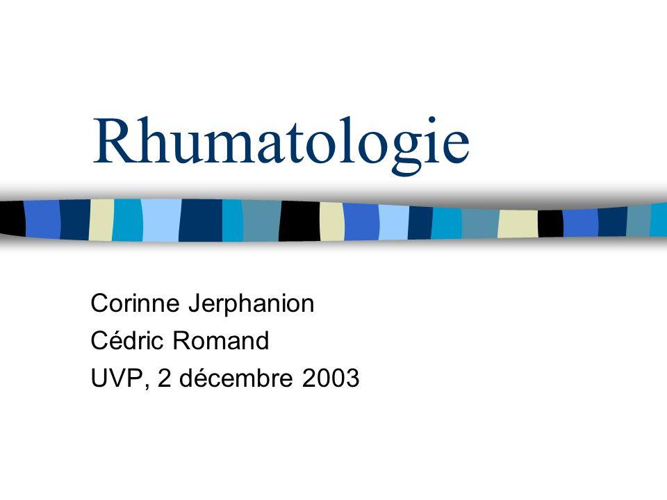 Corinne Jerphanion Cédric Romand UVP, 2 décembre 2003