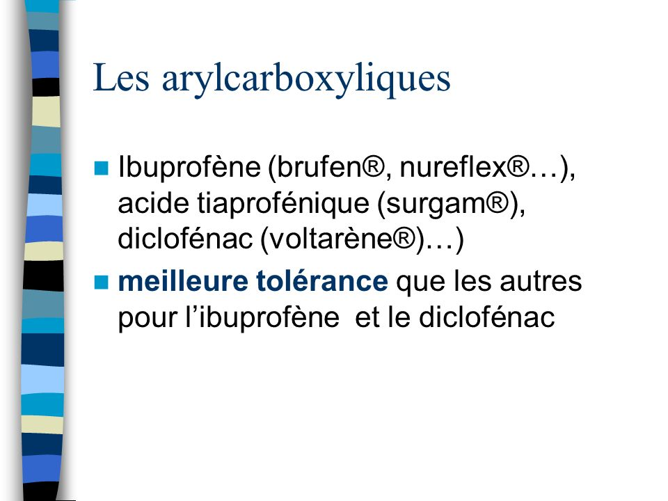 Les arylcarboxyliques