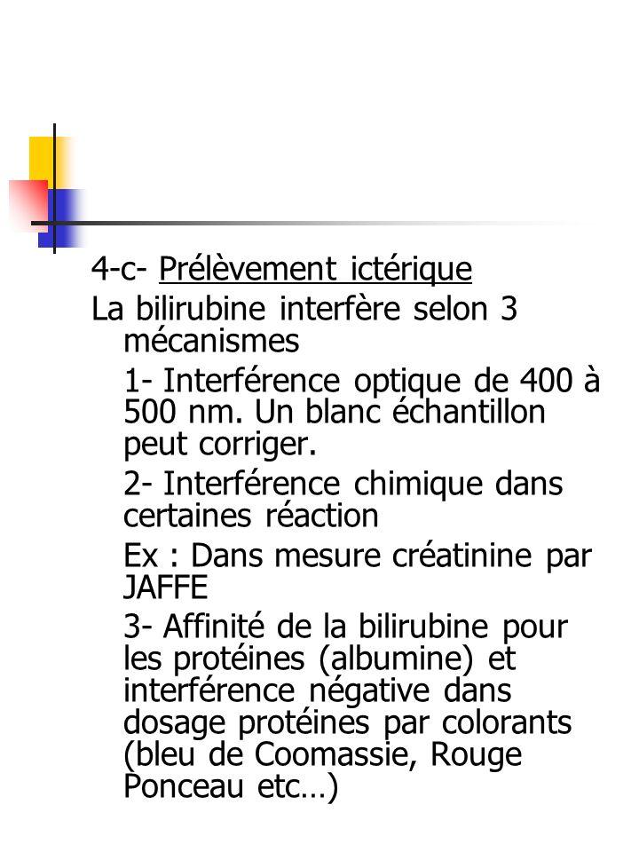 4-c- Prélèvement ictérique