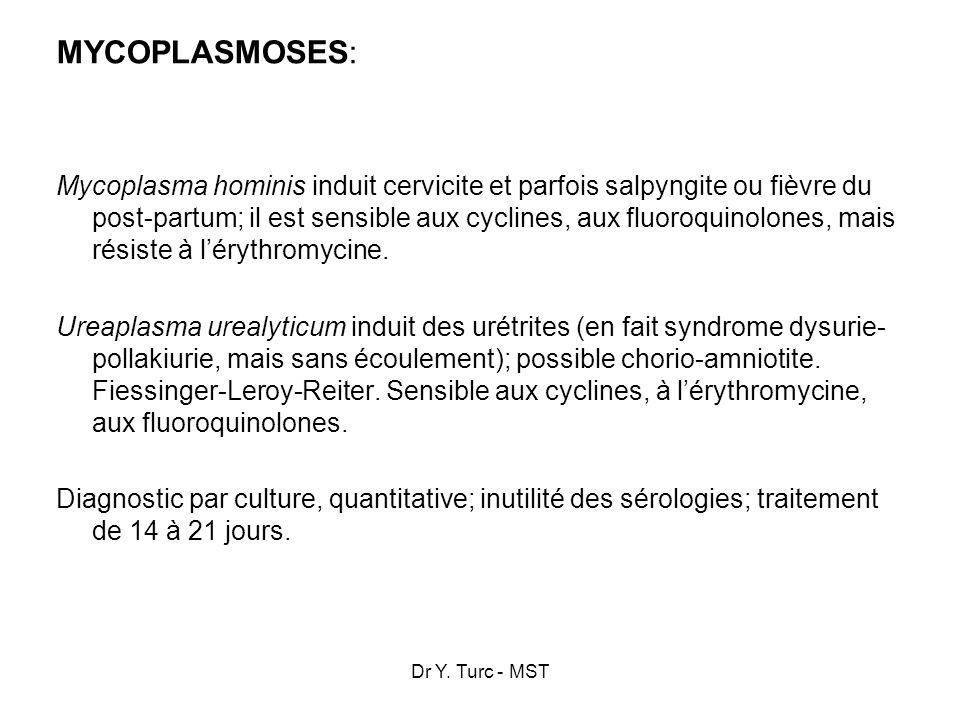 MYCOPLASMOSES: