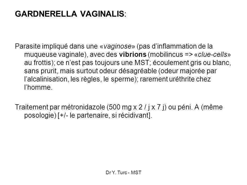 GARDNERELLA VAGINALIS: