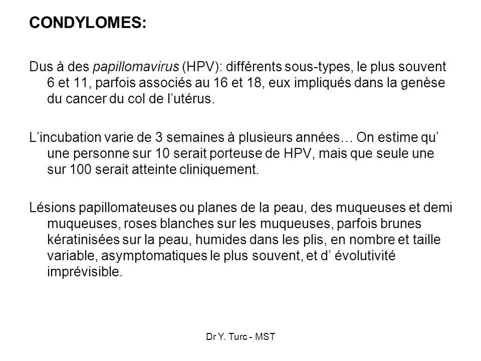 CONDYLOMES: