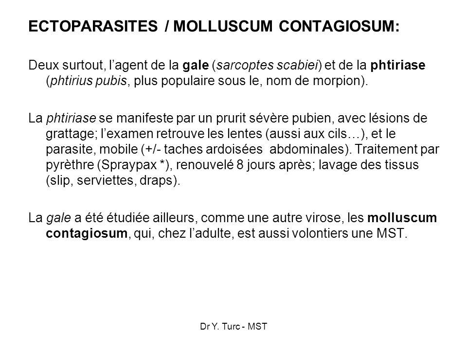 ECTOPARASITES / MOLLUSCUM CONTAGIOSUM: