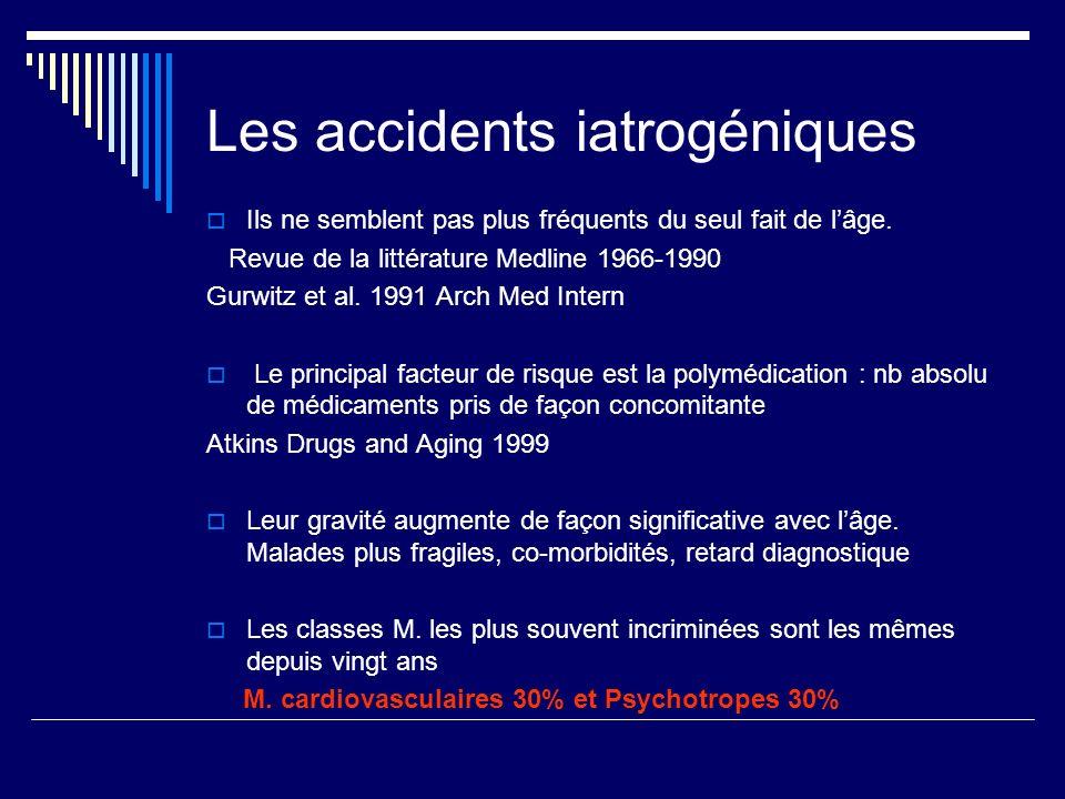 Les accidents iatrogéniques