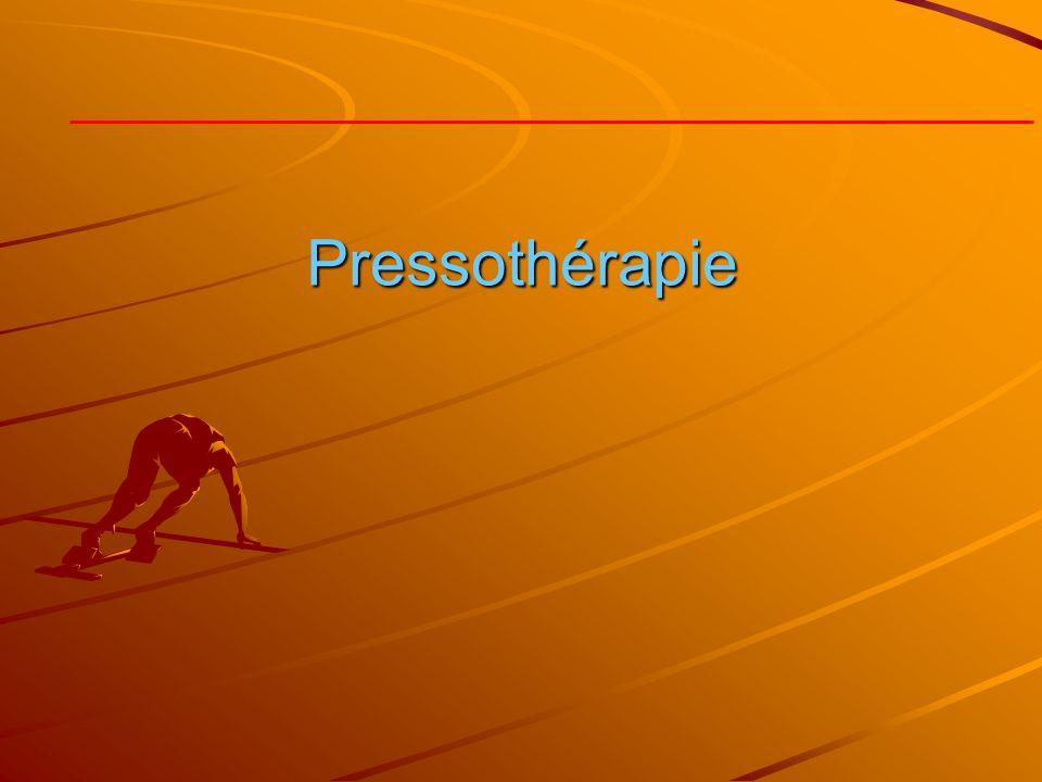 Pressothérapie
