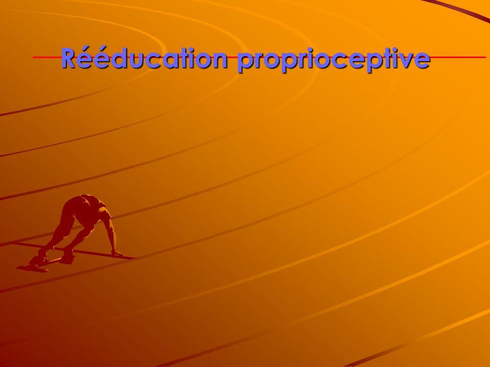 Rééducation proprioceptive