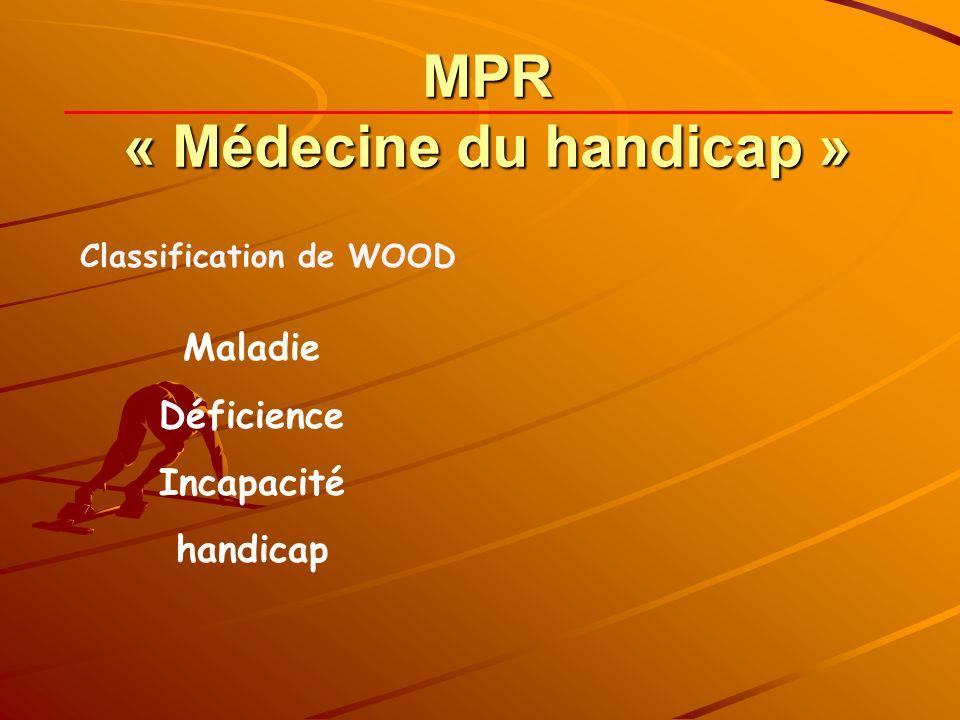 MPR « Médecine du handicap »