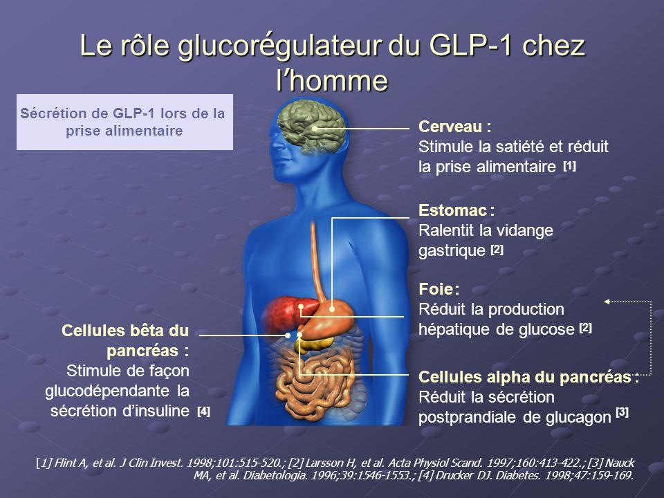 Le rôle glucorégulateur du GLP-1 chez l'homme
