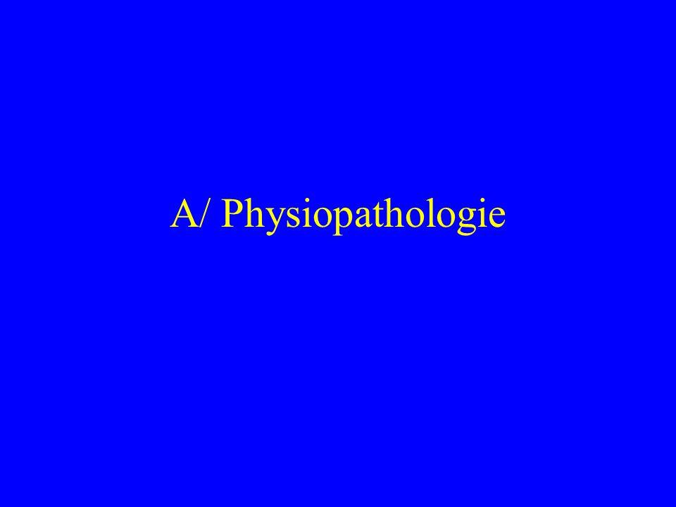 A/ Physiopathologie