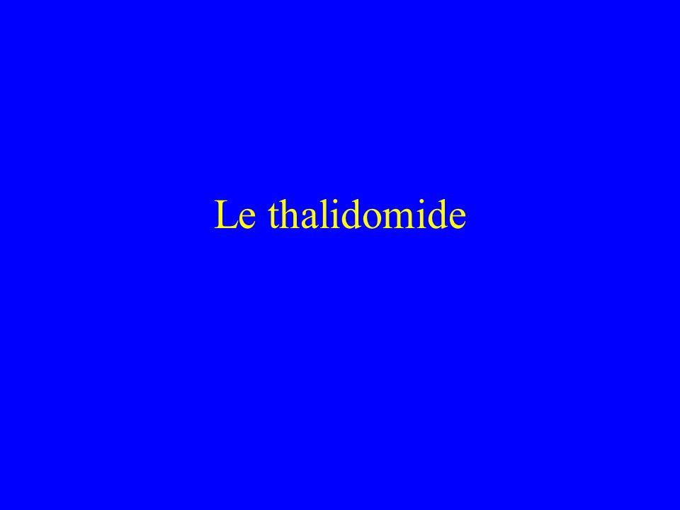 Le thalidomide