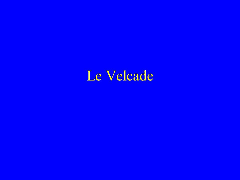 Le Velcade