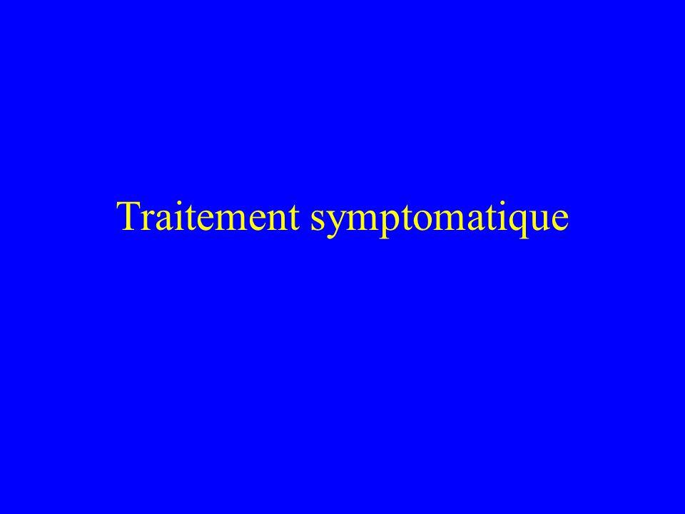 Traitement symptomatique