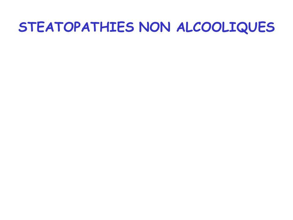 STEATOPATHIES NON ALCOOLIQUES