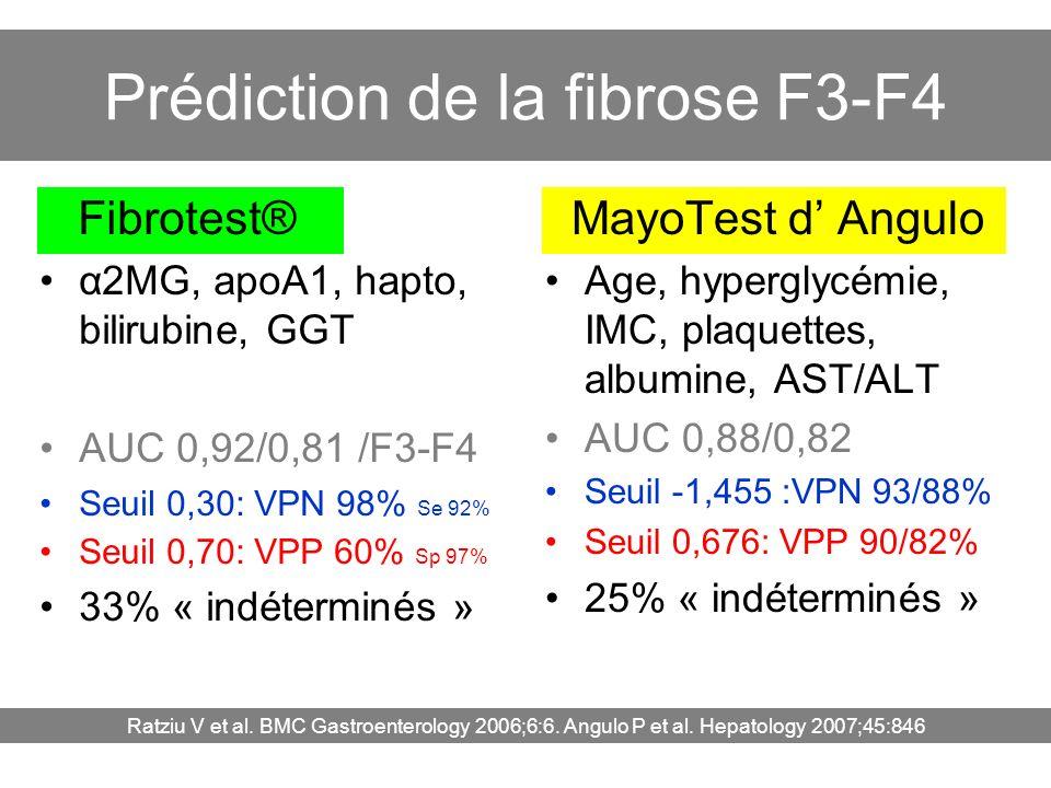 Prédiction de la fibrose F3-F4