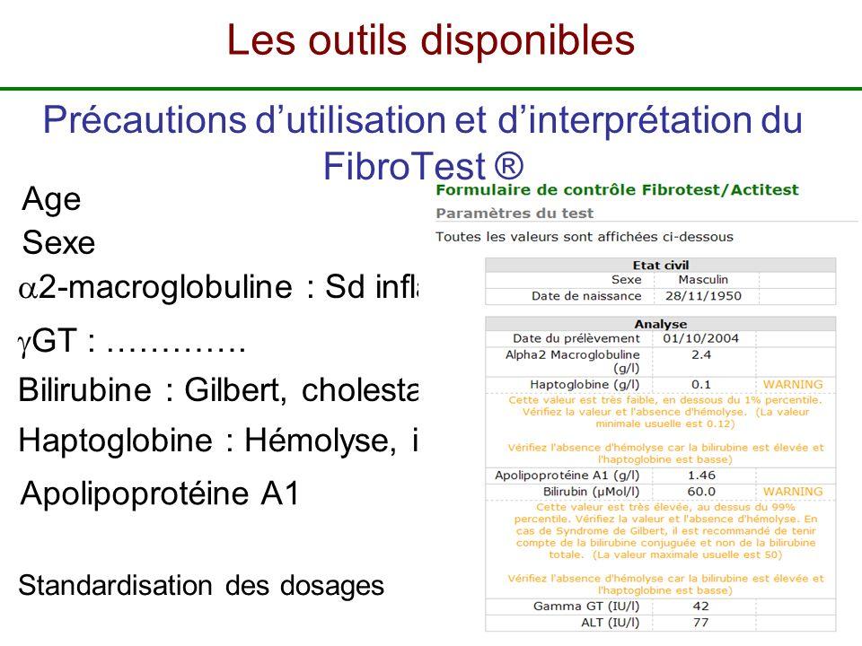 Précautions d'utilisation et d'interprétation du FibroTest ®