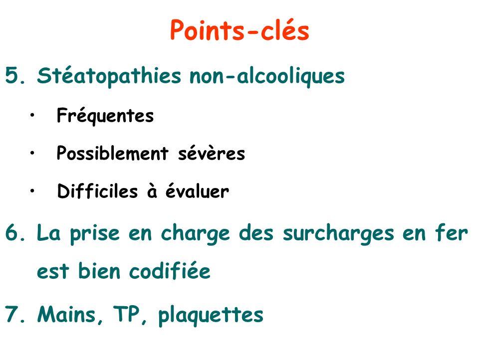 Points-clés Stéatopathies non-alcooliques