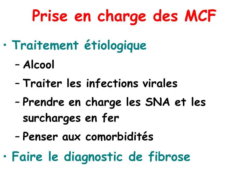 Prise en charge des MCF Traitement étiologique