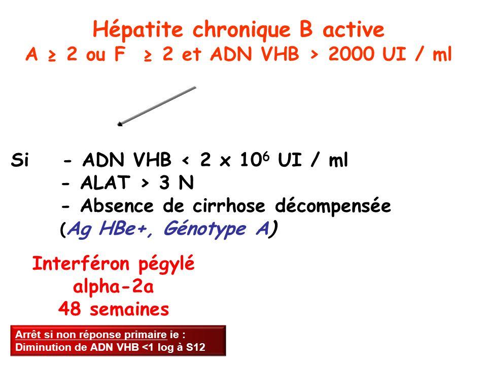 Interféron pégylé alpha-2a 48 semaines