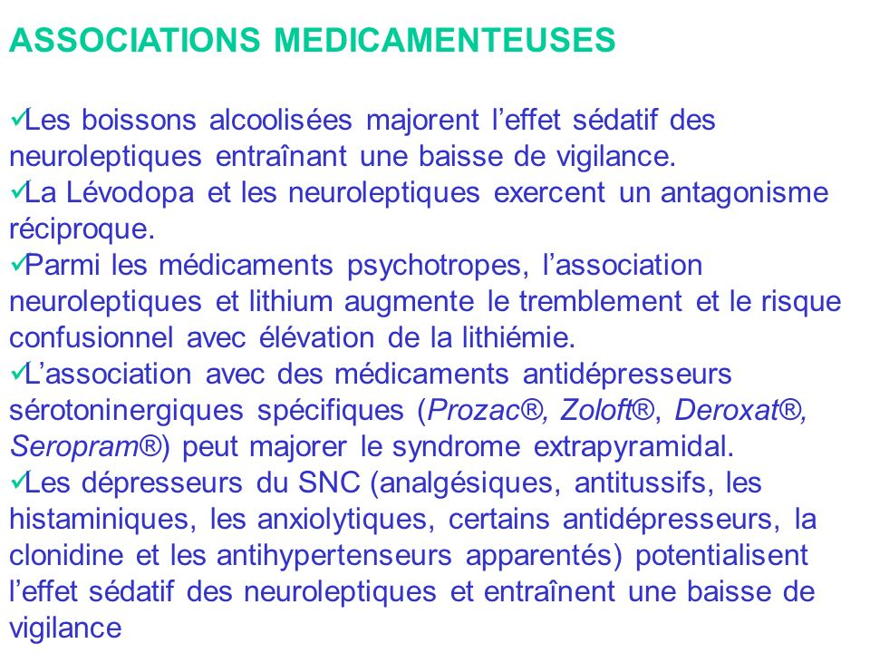 ASSOCIATIONS MEDICAMENTEUSES