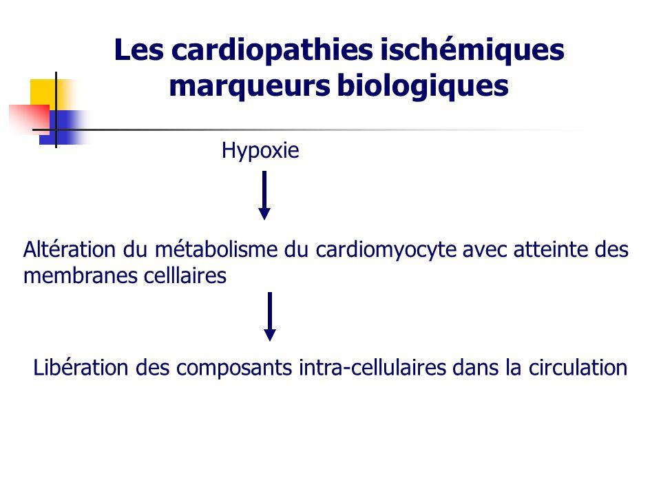Les cardiopathies ischémiques marqueurs biologiques