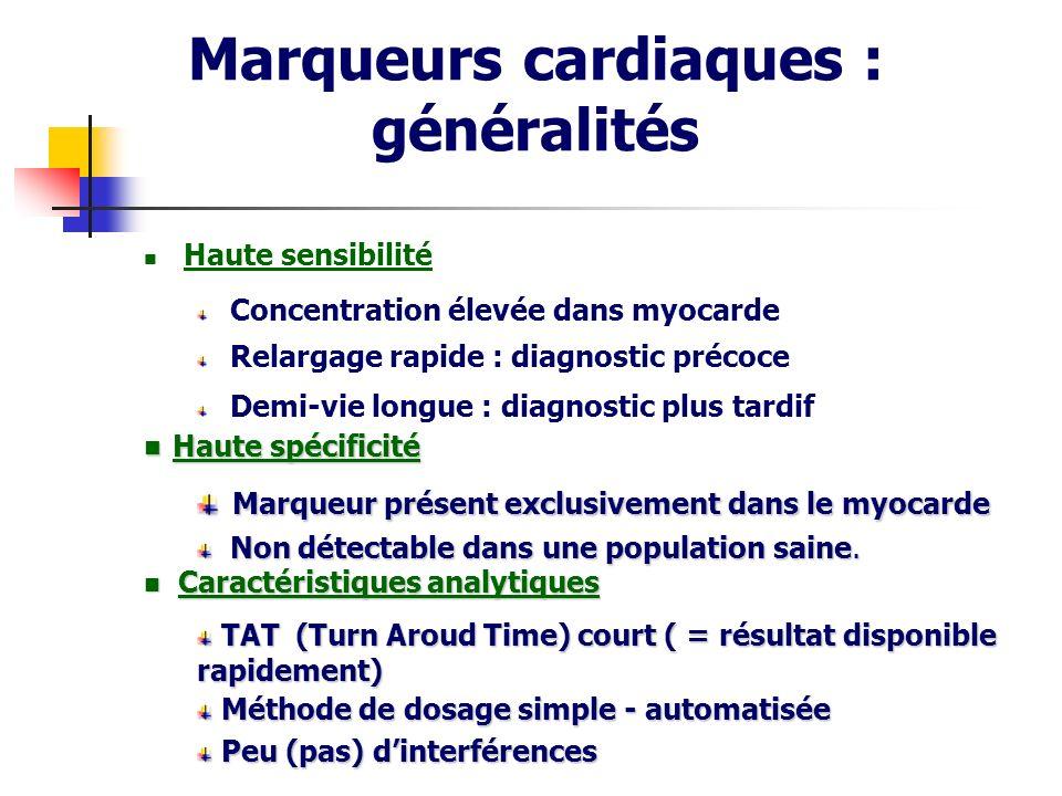 Marqueurs cardiaques : généralités