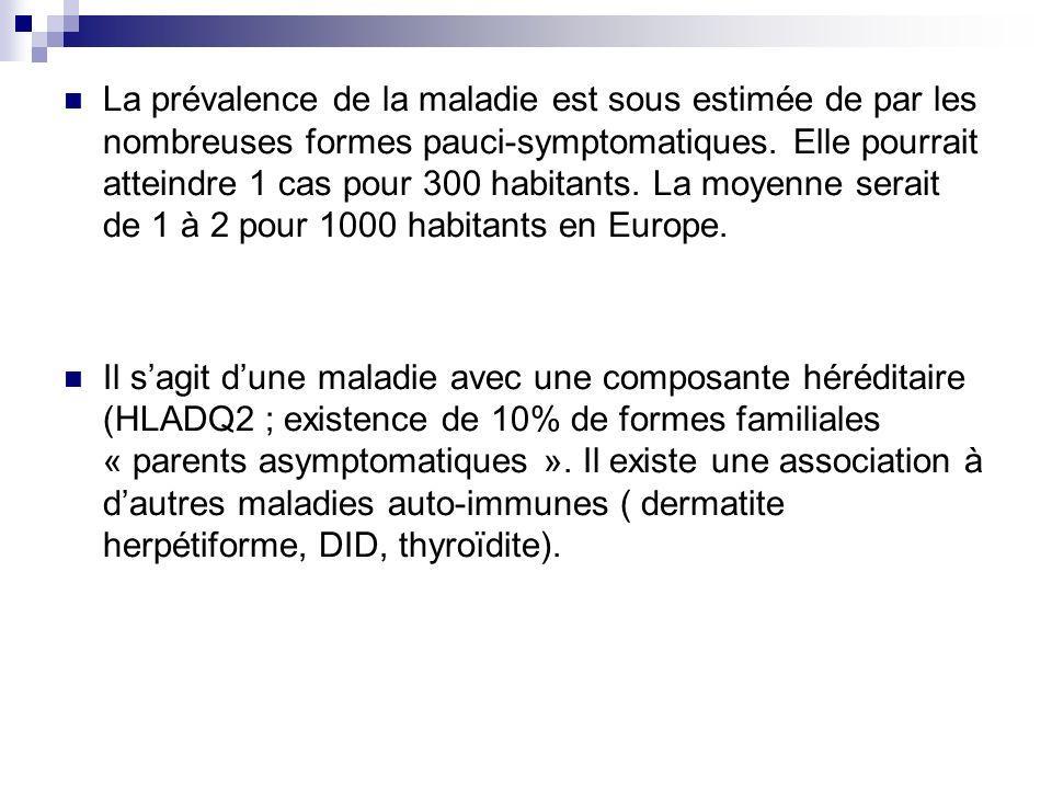 La prévalence de la maladie est sous estimée de par les nombreuses formes pauci-symptomatiques. Elle pourrait atteindre 1 cas pour 300 habitants. La moyenne serait de 1 à 2 pour 1000 habitants en Europe.