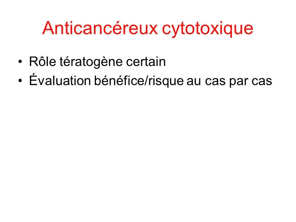 Anticancéreux cytotoxique