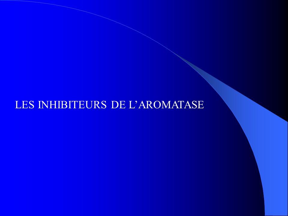 LES INHIBITEURS DE L'AROMATASE