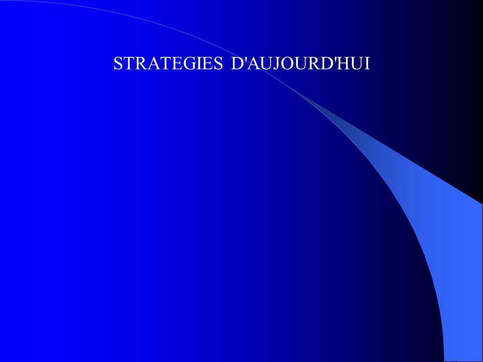 STRATEGIES D AUJOURD HUI