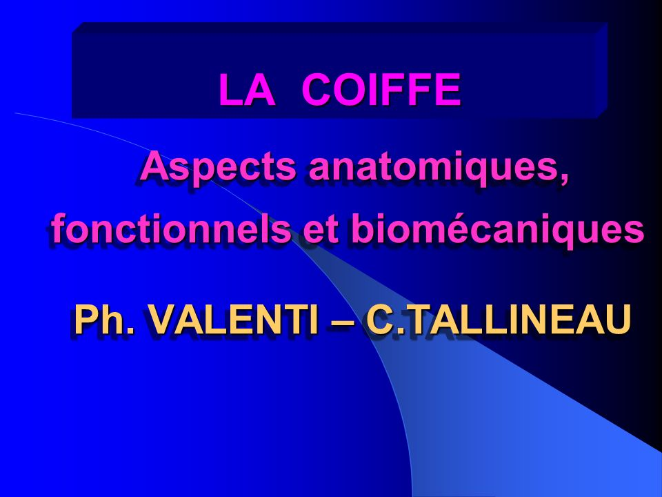 Ph. VALENTI – C.TALLINEAU