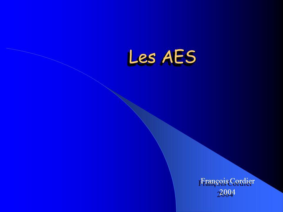 Les AES François Cordier 2004
