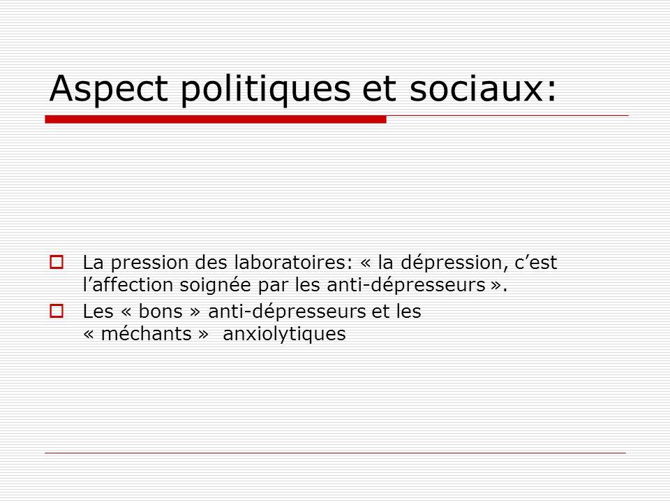 Aspect politiques et sociaux: