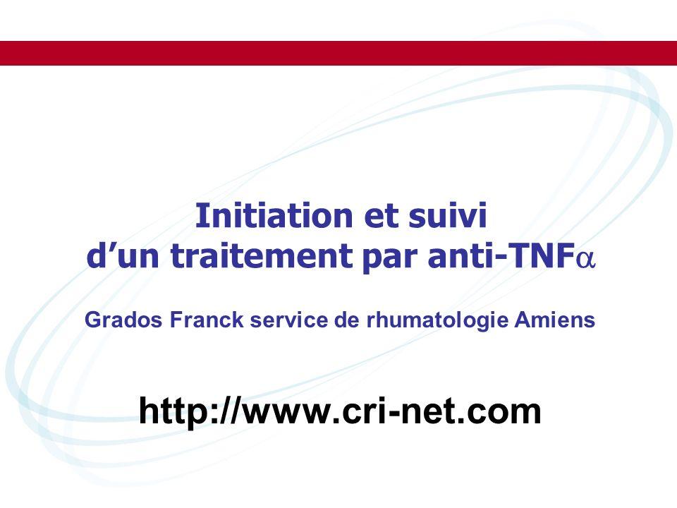 http://www.cri-net.com Initiation et suivi