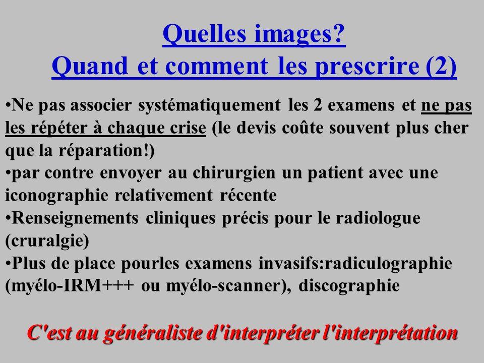 Quelles images Quand et comment les prescrire (2)
