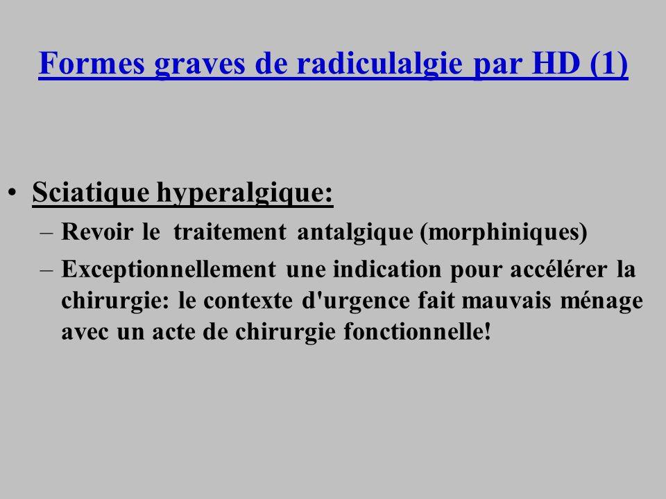 Formes graves de radiculalgie par HD (1)
