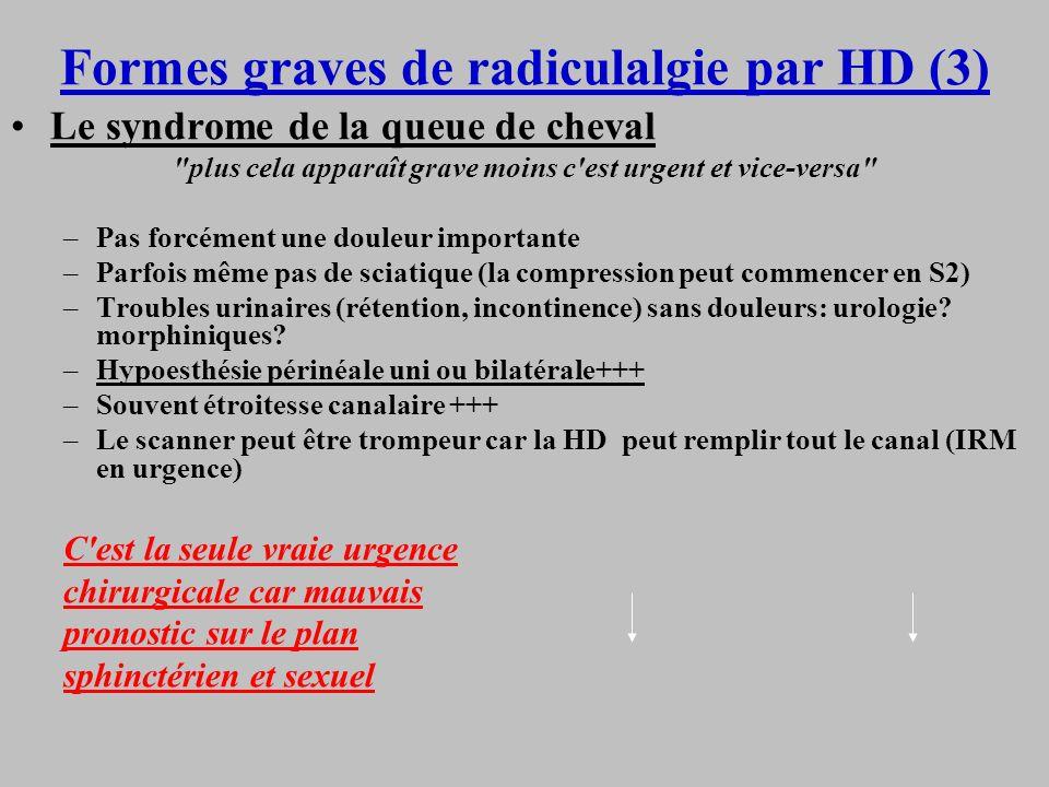 Formes graves de radiculalgie par HD (3)