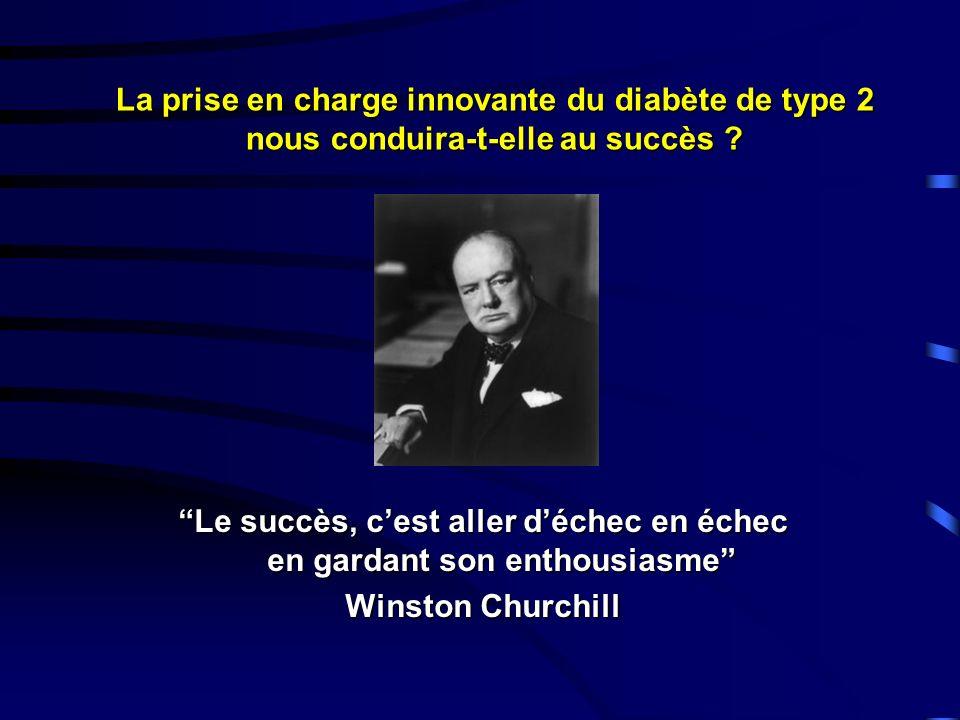 Le succès, c'est aller d'échec en échec en gardant son enthousiasme