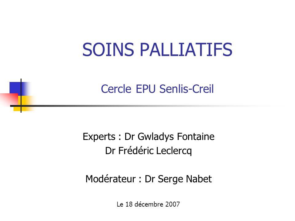 SOINS PALLIATIFS Cercle EPU Senlis-Creil