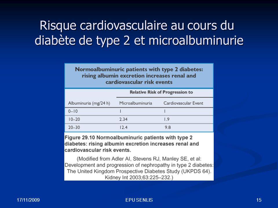 Risque cardiovasculaire au cours du