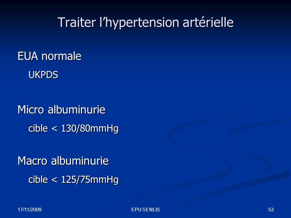 Traiter l'hypertension artérielle
