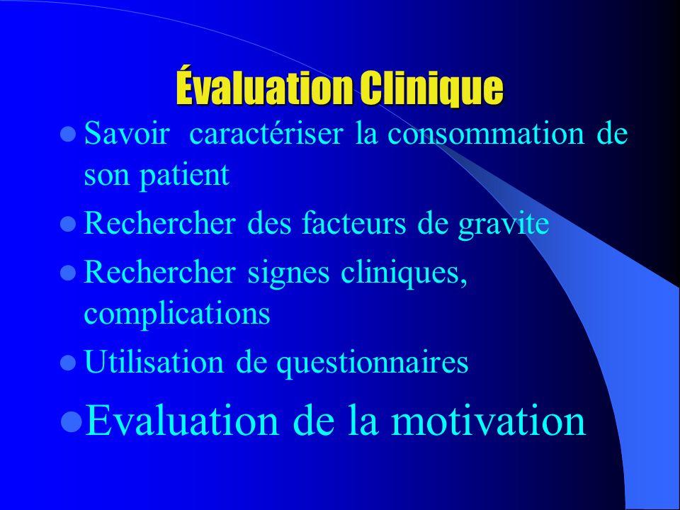 Evaluation de la motivation