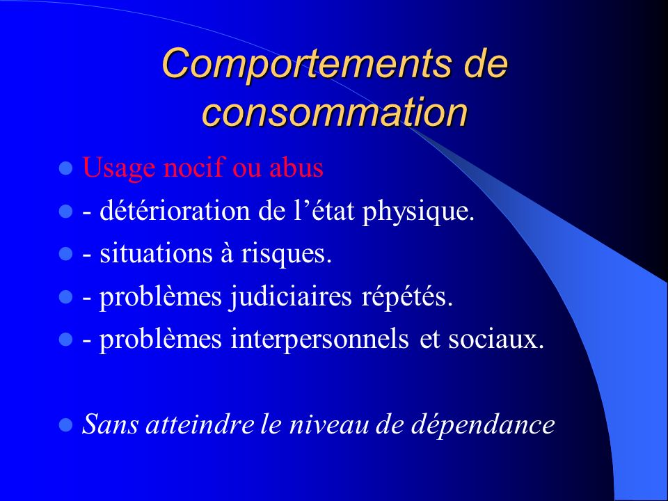 Comportements de consommation