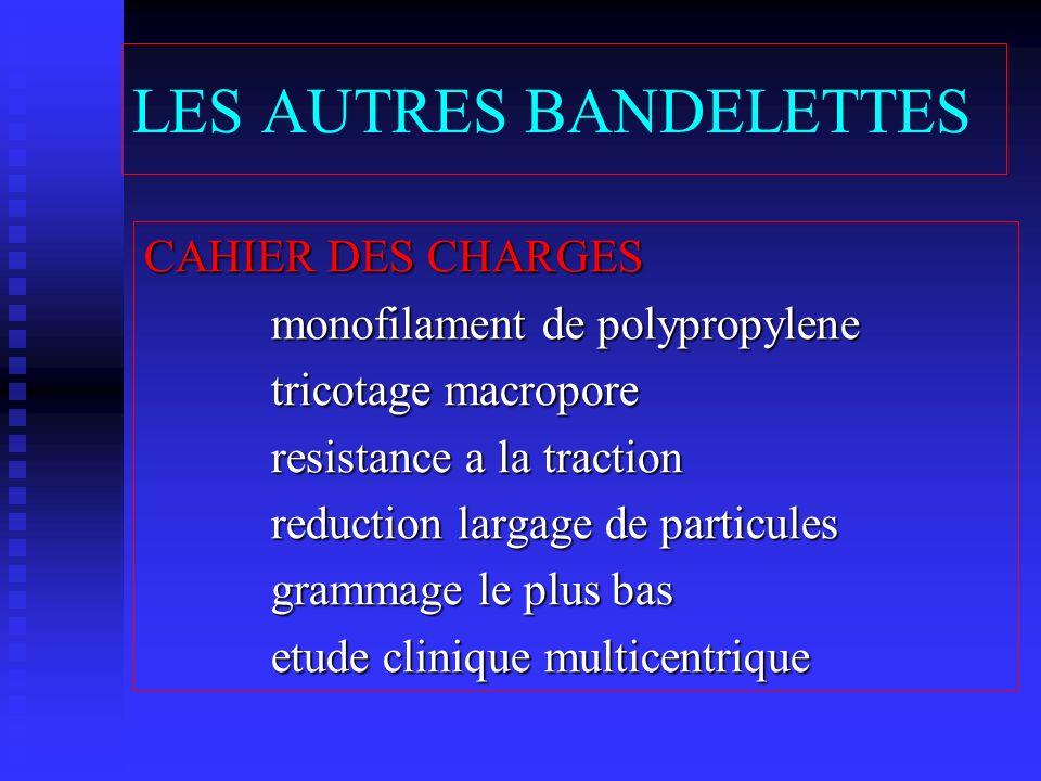 LES AUTRES BANDELETTES