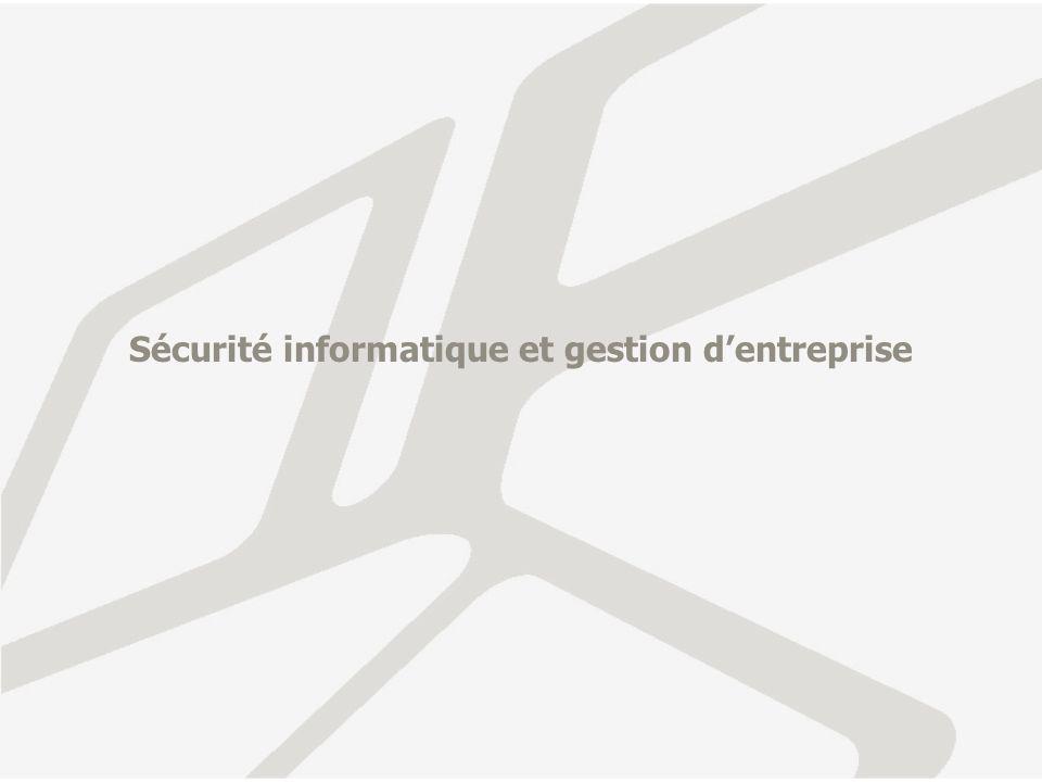 Sécurité informatique et gestion d'entreprise