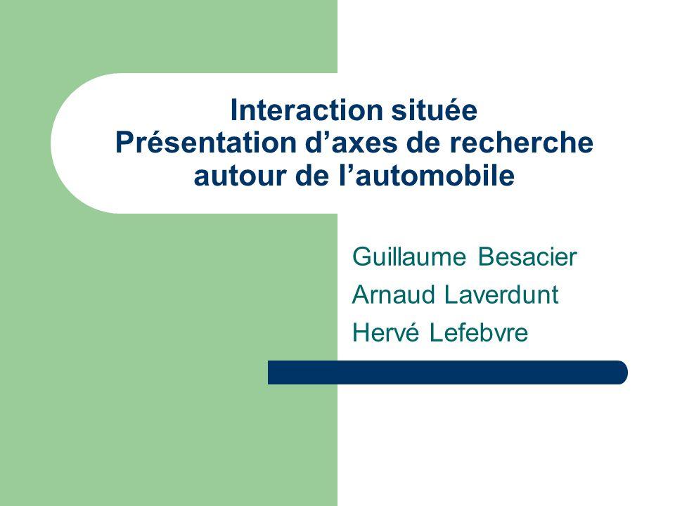Guillaume Besacier Arnaud Laverdunt Hervé Lefebvre