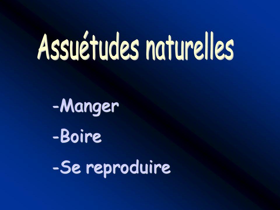 Assuétudes naturelles
