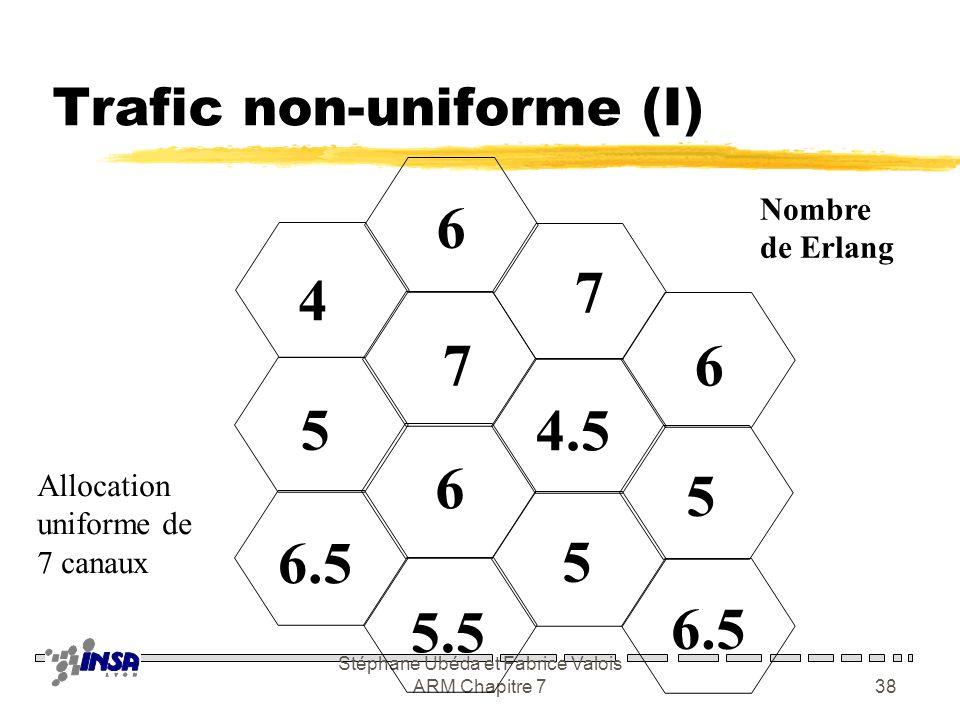 Trafic non-uniforme (I)