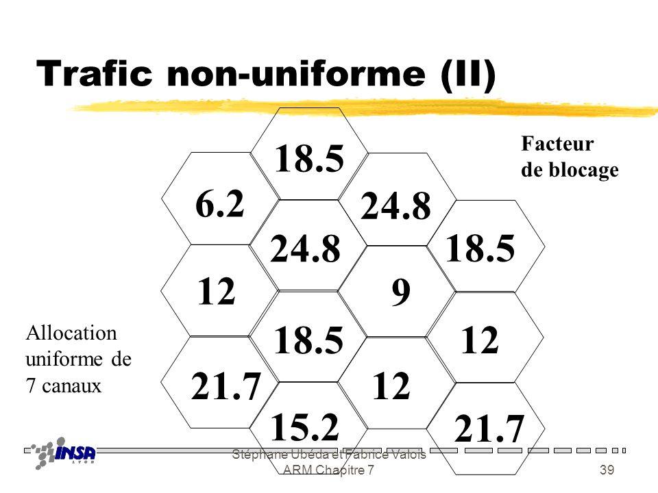 Trafic non-uniforme (II)